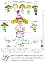 Chelsea Little's 10th by BeckieRGB