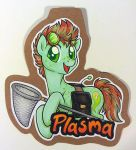 Plasma badge by onnanoko