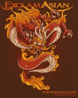 Chinese Dragon by nosredna1313