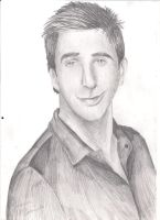 David Schwimmer by Super-Midget