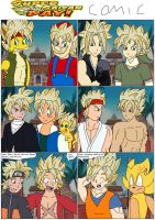 Super Saiyan day comic by SuperSaiyanCrash