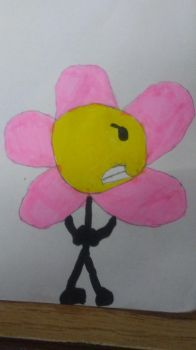 My Drawing of Flower (BFDI) by MrJason200