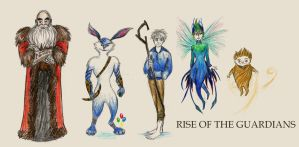 Rise Of The Guardians by xxIgnisxx