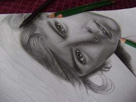 Harry Styles WIP by val1drawing