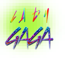 "Texto ""Lady Gaga"" png by Ro-editions"