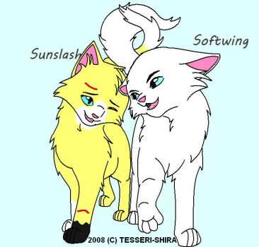 Sunslash and Softwing by spottedtime