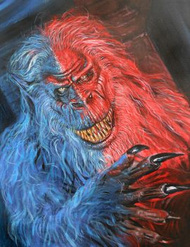 CREEPSHOW'S    FLUFFY THE CRATE MONSTER by Legrande62