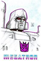 G1 Megatron - colored by Starshot-seeker