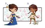 Prosthetic Flower Adoptables 2 [OPEN] by YiamStuff