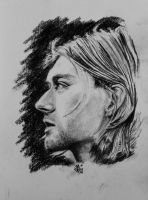 Kurt Cobain by o0gie