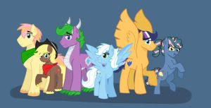Next Generation Mane 6 by PimpArtist101