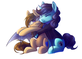 SNUGGLES! by Melon-Drop