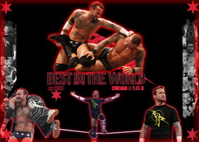 Cm punk WWE Champion forever by DecadeofSmackdownV3