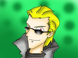 Wesker by Akavirtoon