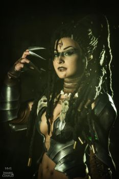 Headhunter Nidalee cosplay by IssabelCosplay