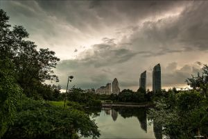 Light in the storm by Jack-Nobre