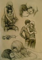 Mello and Matt Sketches 2 by Annonyma