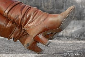 brown boots 2 by stereo-B
