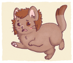Bilbo Baggkitty by Queso-Queen