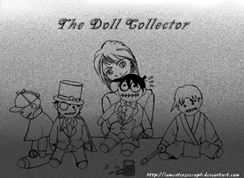 The Doll Collector by lamentingseraph