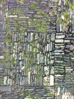 Mossy Chinese checkered floor tile 1 by Greyfaerie4