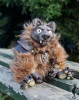 Wild Bill I - OOAK doll by bt-v