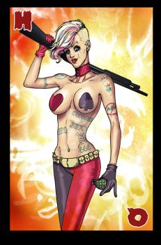 Harley Quinn concept by scottssketches