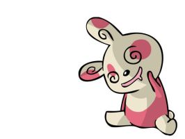 Spinda by Carthx
