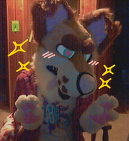 fursuit friday  !   ! by tropicalfriend