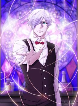 Bartender of Quindecim | Death Parade by DivineImmortality