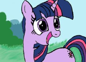 Twilight via drawing tablet by lefthoovesdash