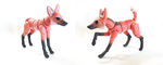 Maned Wolf BJD 04 by vonBorowsky