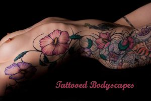 Tattooed Bodyscape Full Set by RaymondPrax