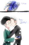 + Happy Birthday Cauchy-kun :) + by SerketStalker