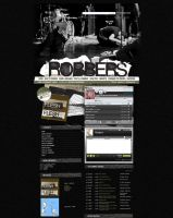 Myspace: Robbers by stuckwithpins