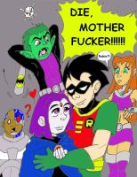 Raven Belongs to Beast Boy by cloudberry0