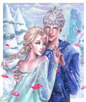 Jack-and-Elsa by LuXame