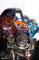 Acdc Hdr Motercycle Digital Painting by DanaHaynes