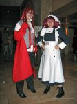 Grell and Meylin by Stormfalcon