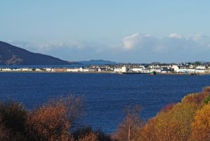Ullapool autumn by piglet365