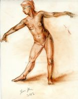 Study of the human figure by hakepe