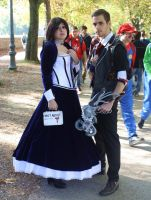 Booker and Elizabeth Cosplays by Maspez