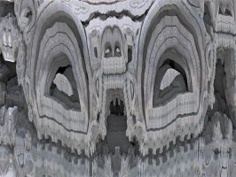 Mandelbulb3D white face by calciumpill