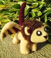 Manticore Plush - Commission by Sparkle-And-Sunshine