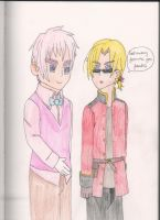 APH : 2P!England and 2P!Canada by SwiftNinja91