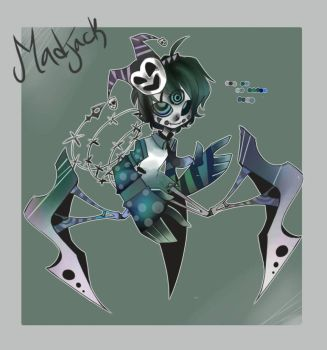 Madjack Tryepod- for TheWickedWordsmith by Insomni-kitty