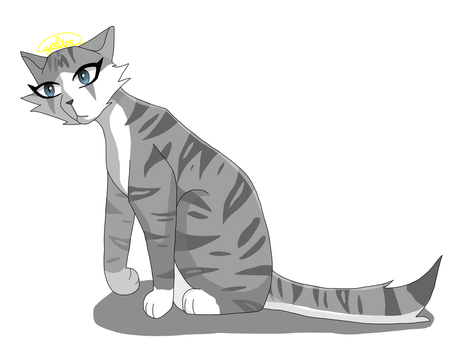 Ivypool by GoldenflareDraws