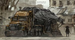 Steel samurai - Mobile Market by novaillusion