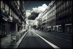 Parisian Street by Phil-Kay
