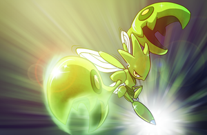 Shiny Scizor by JARV69